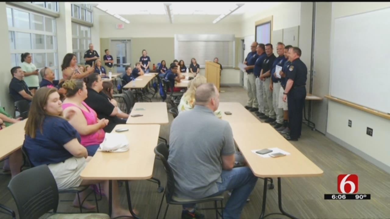 Cadets Graduate From Broken Arrow Junior Police Academy