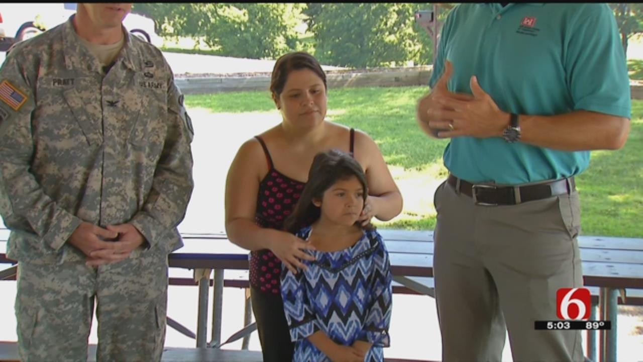 Mother Grateful To 19 Year Old Who Saved Daughter At Lake Oologah