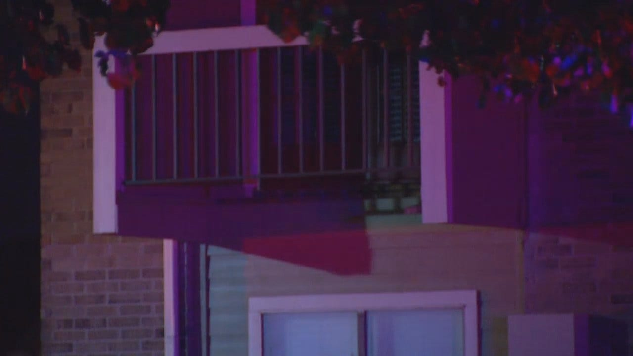 WEB EXTRA: Video From Scene Of Tulsa Apartment Balcony Collapse
