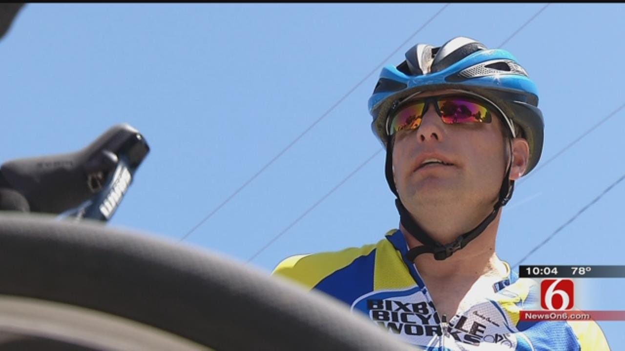 Local Cyclist Looks To Conquer 'Cry Baby Hill' After Suffering Heart Attack