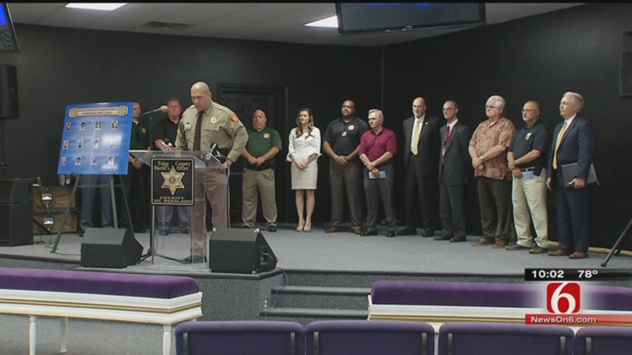 Tulsa County Sheriff Announces New Cold Case Task Force