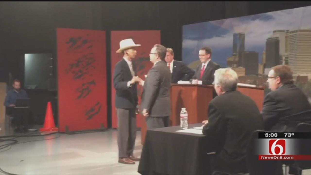 Tulsa Mayoral Candidate Crashes Debate After He Wasn't Invited