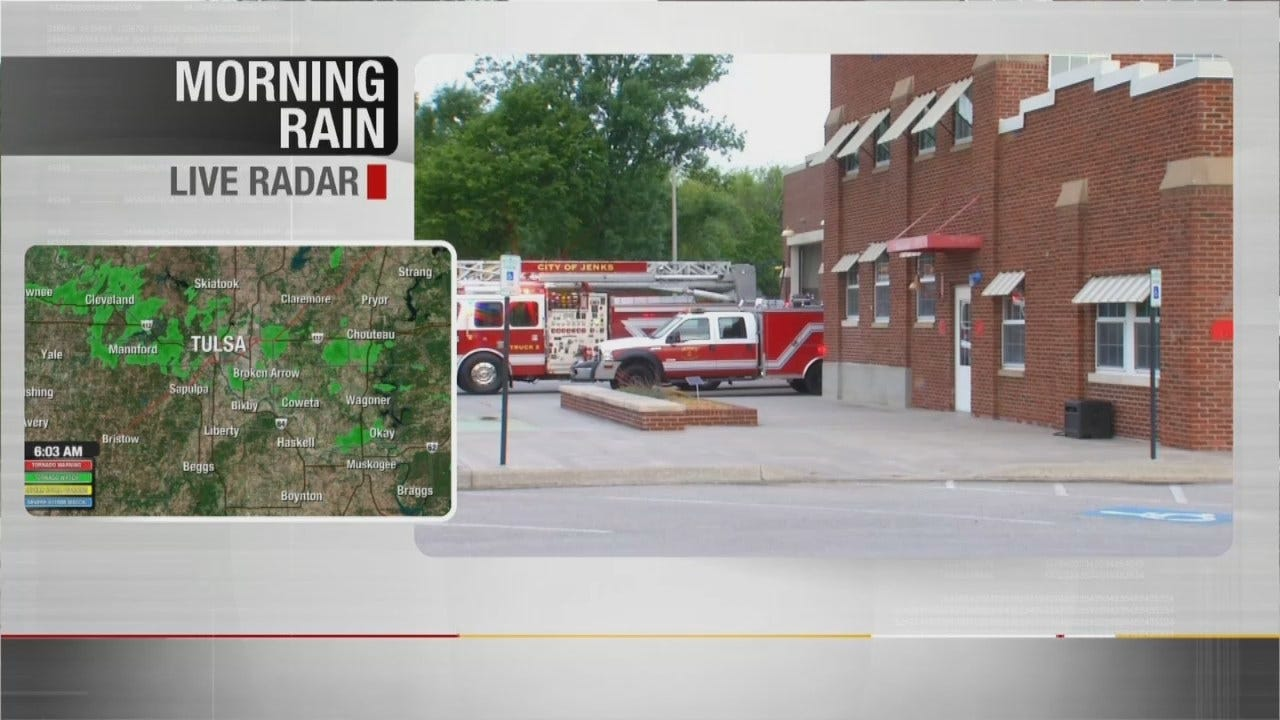 Firefighters Sleeping Elsewhere Due To Mold In Their Jenks Station