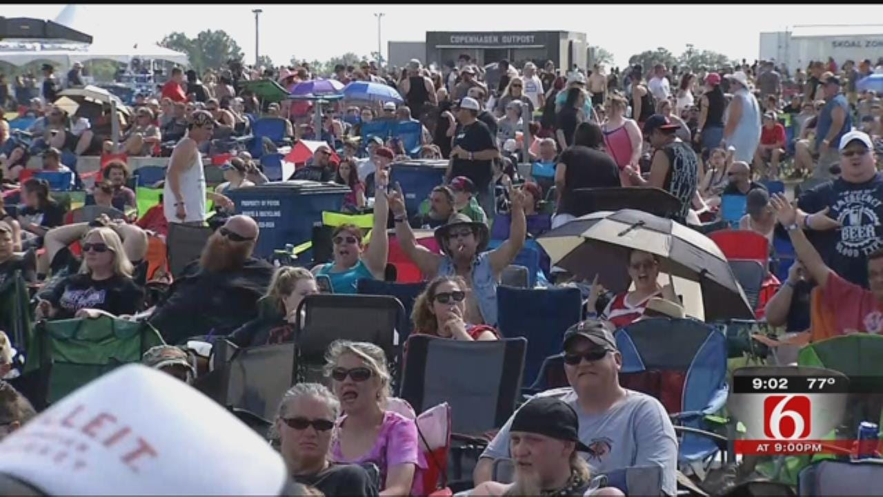Rocklahoma Fans Fill Pryor Campgrounds For Annual Music Festival