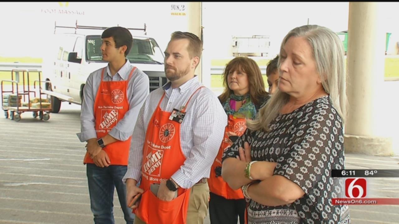 Home Depot, Meals On Wheels Partner To Help Tulsa Veterans