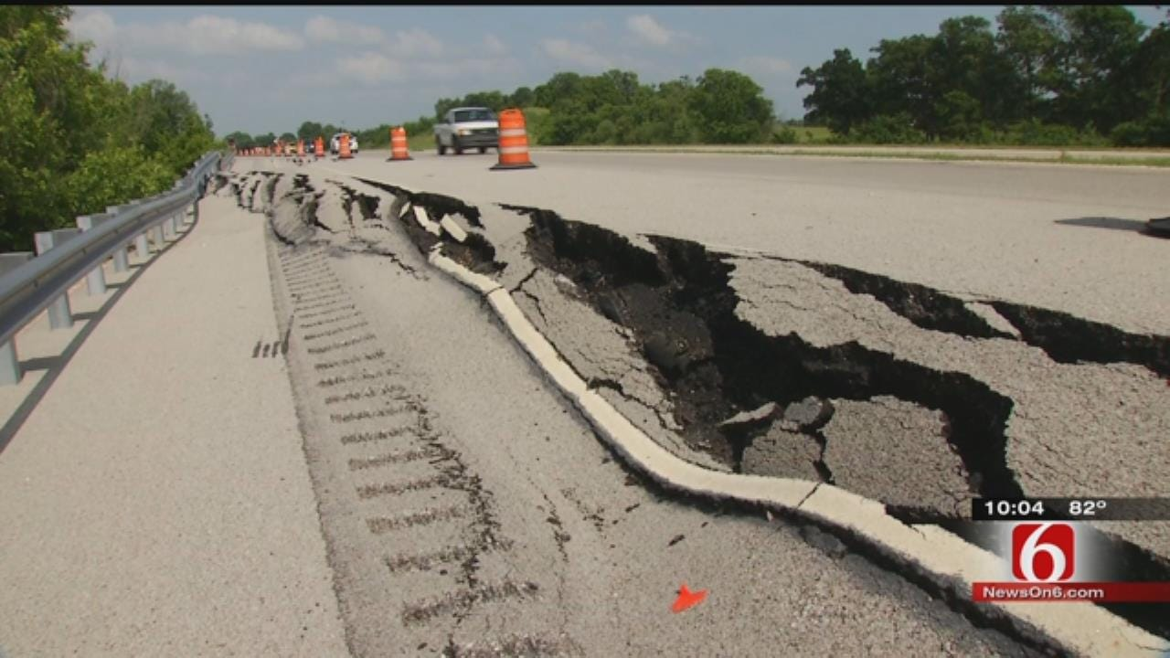 Drivers Concerned As Part Of Highway 51 Continues To Crumble