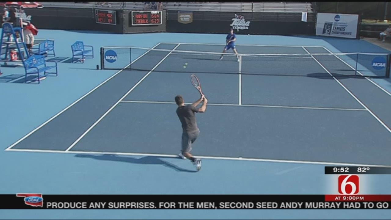 TU's Or Ram-Harel Advances To Second Round Of NCAA Men's Tennis Singles Championship