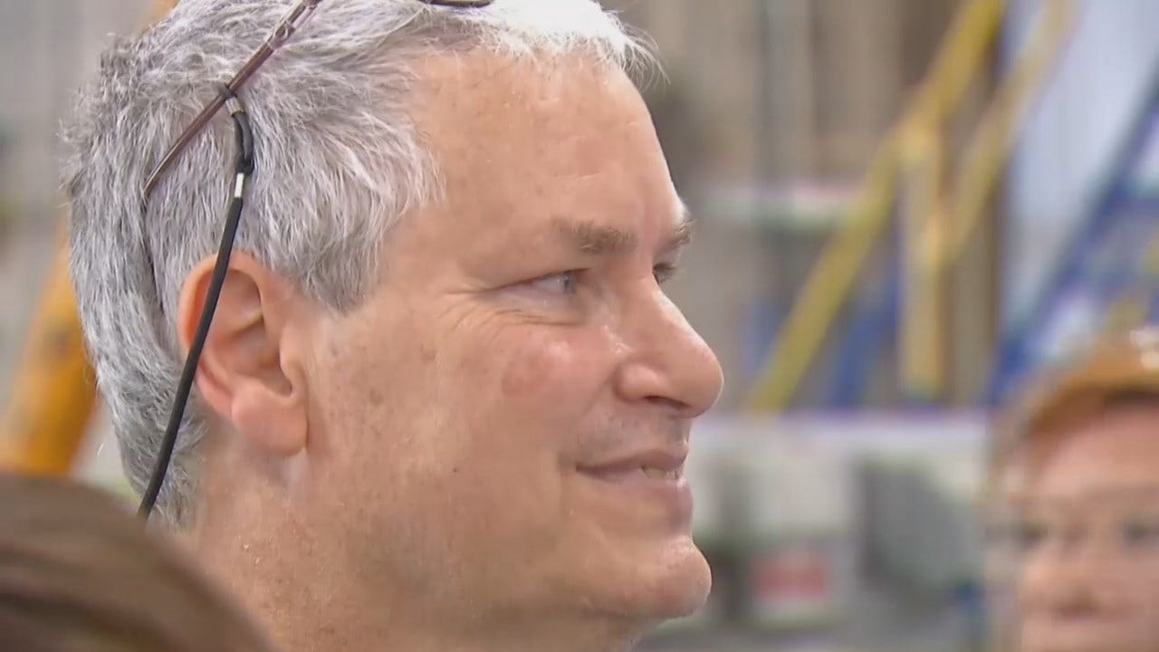 OSU Parade Crash Victim Visits Co-Workers At American Airlines
