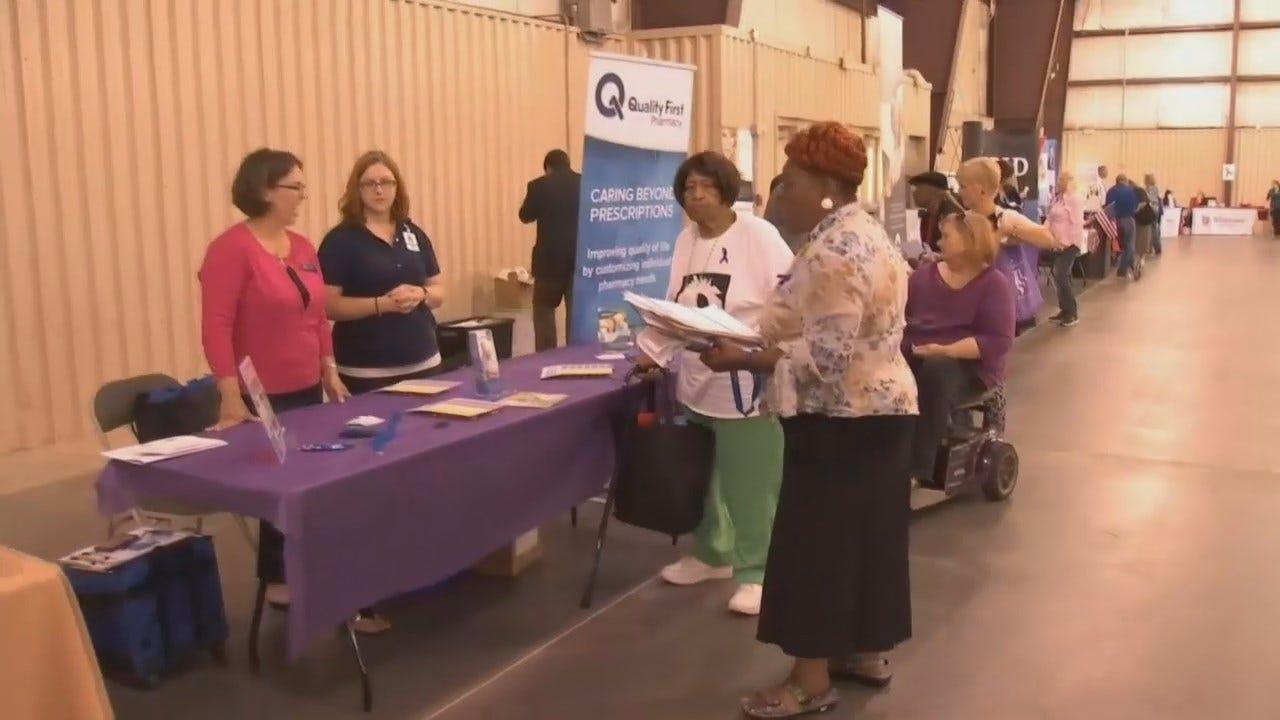 Tulsa Police Hold Senior Lifestyle Fair