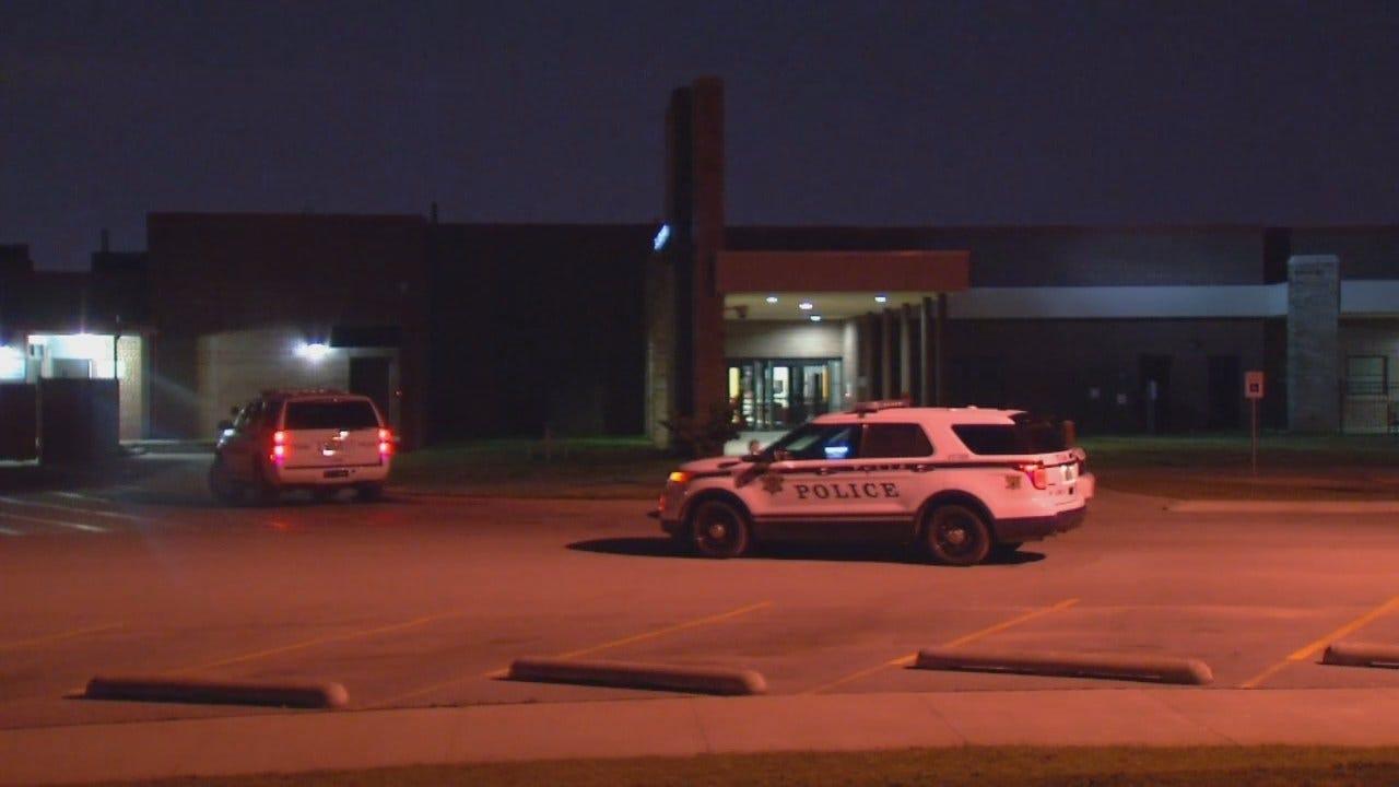 WEB EXTRA: Police Arrest Tulsa School Burglary Suspect