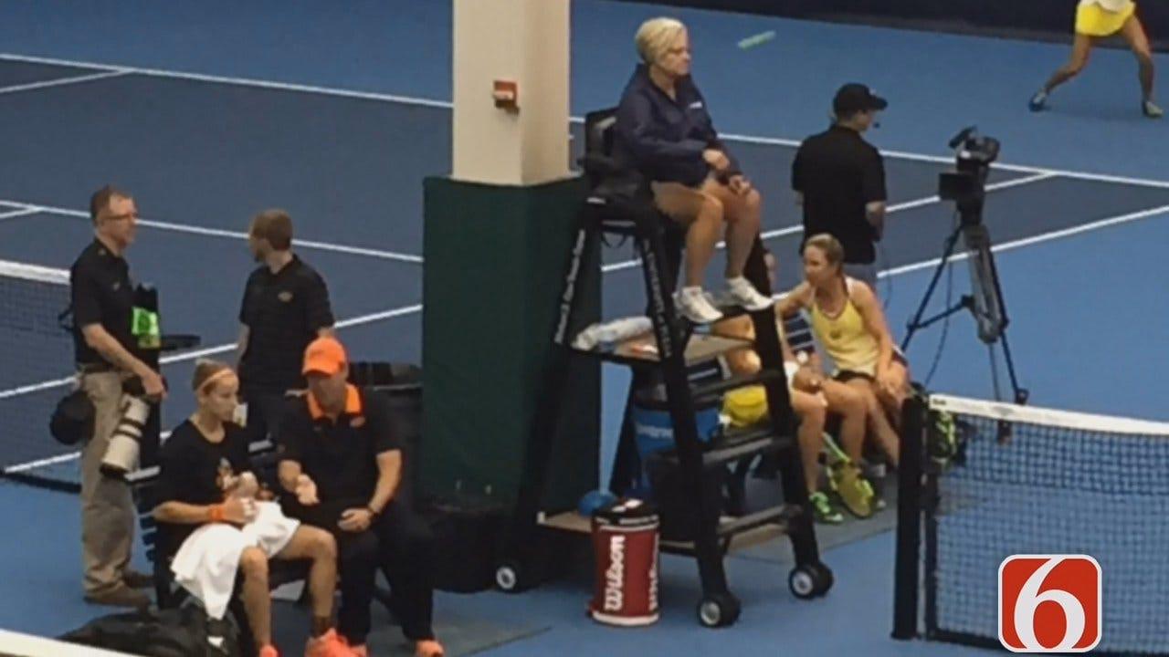 Terry Hood Reports On OSU Cowgirl Tennis