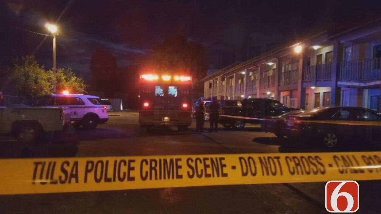 Tony Russell: Woman Stabbed Outside Tulsa Howard Johnson's Motel