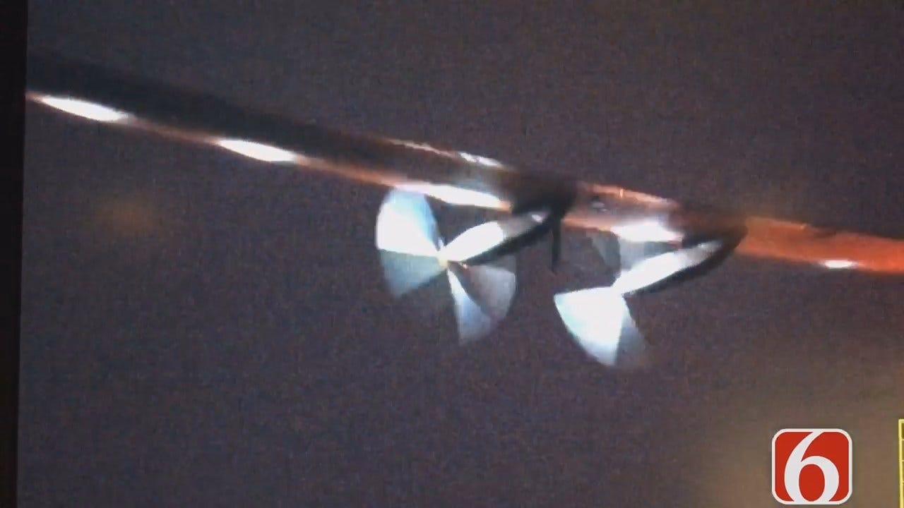 Tony Russell Says Solar Impulse 2 Leaves Tulsa Early Saturday