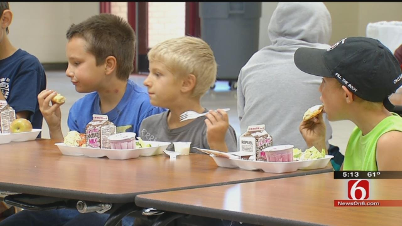 Cleveland Schools Put 'Kids First,' Open Doors For Summer Food Program