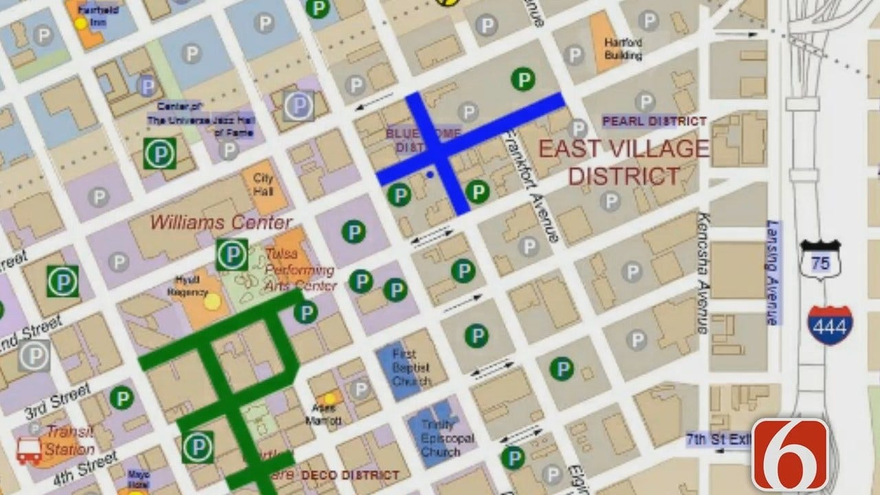 Dave Davis Reports On Blue Dome Festival Road Closures