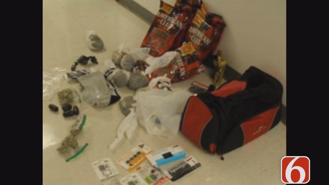 Lori Fullbright Reports On Contraband Found At Oklahoma Prison