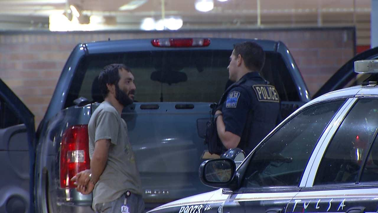 Dave Davis Reports On Tulsa Man Arrested With Stolen Truck