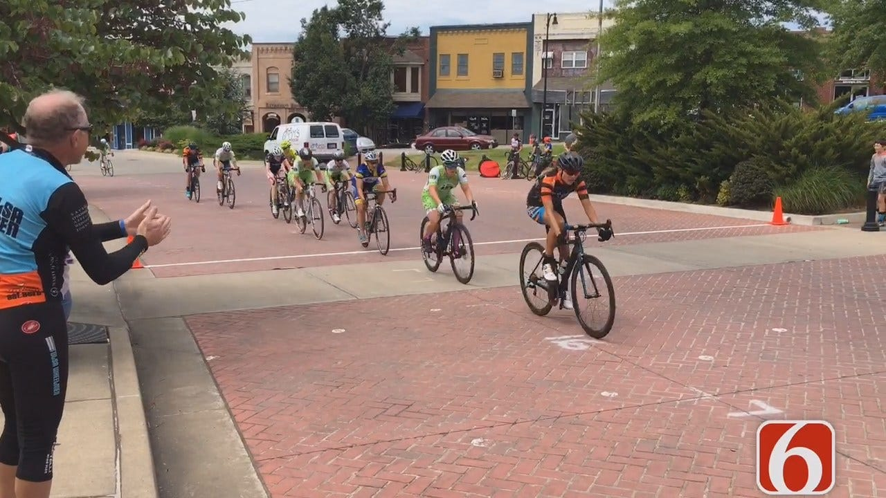 Tony Russell Reports On Sand Springs Bicycle Races
