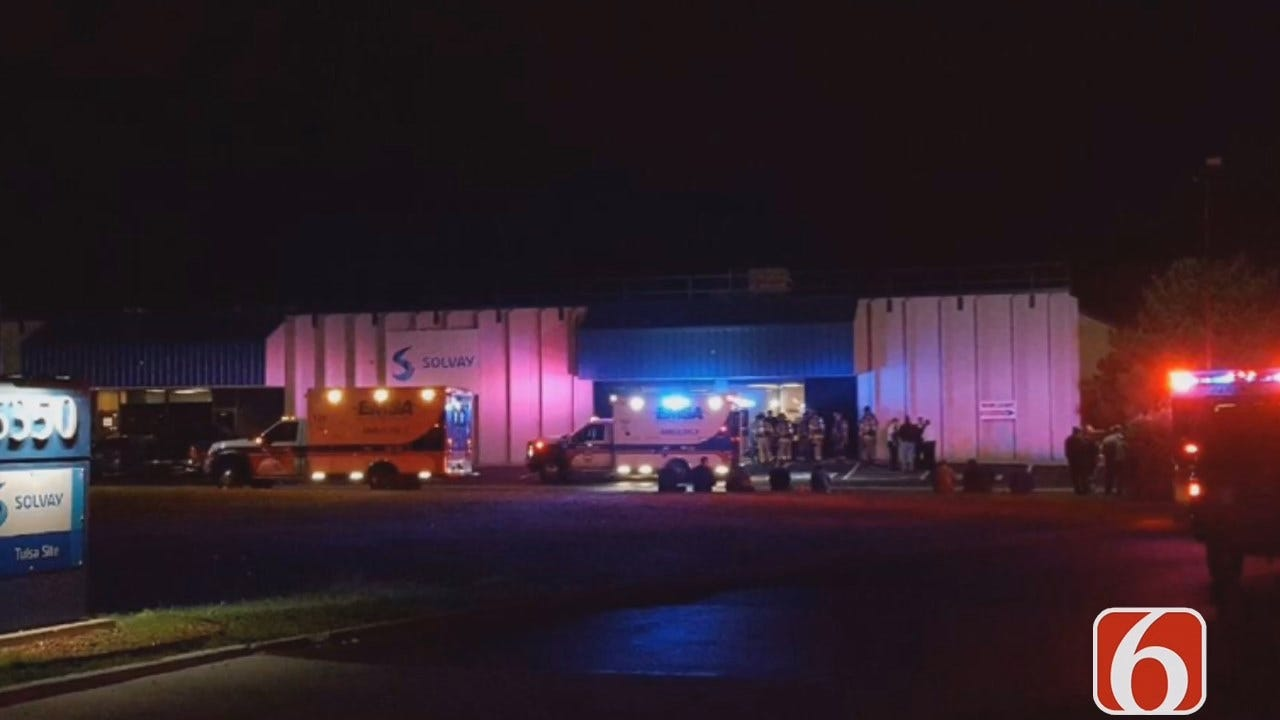 Tony Russell Reports On Tulsa Solvay Chemical Fire
