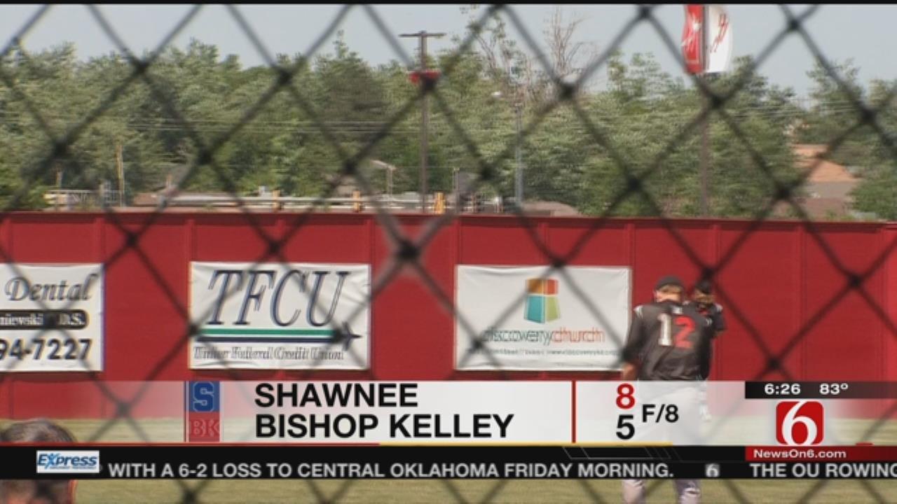 5A Baseball: Bishop Kelley Falls To Defending Champion Shawnee In Semifinals