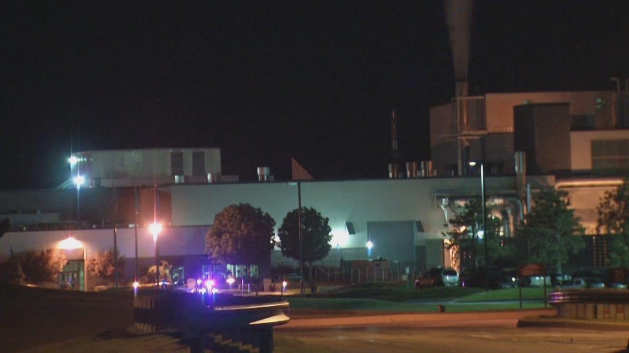 WEB EXTRA: Video From Scene At Jenk's Kimberly-Clark Plant