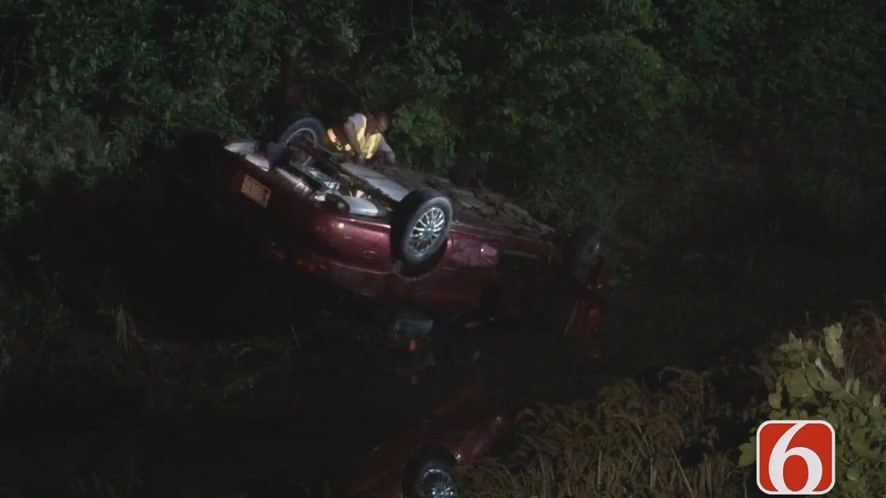 Gary Kruse Reports On Injury Crash Outside Skiatook