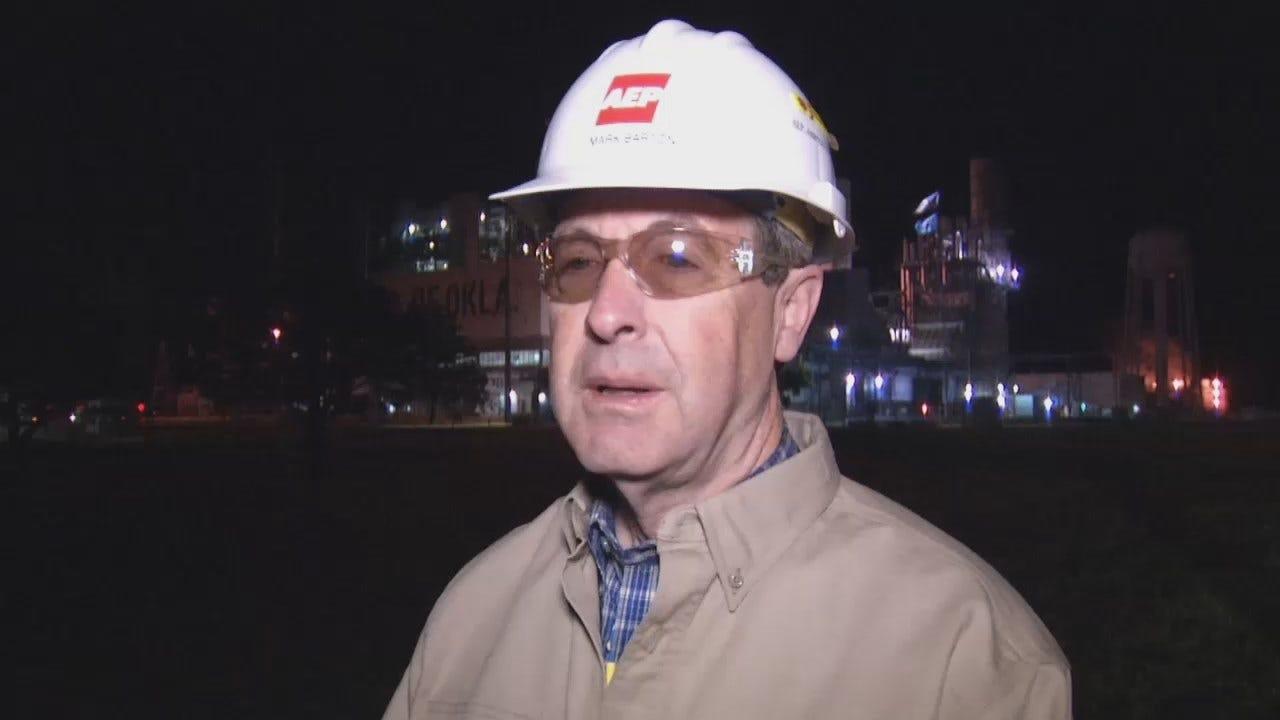 WEB EXTRA: PSO's Mark Barton Talks About Transformer Fire