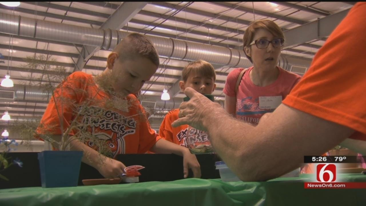Oklahoma School Kids Learn The Benefits Of Bugs