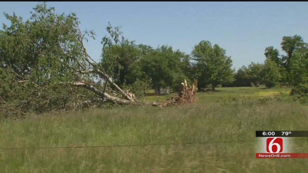 NWS Surveys For More Possible Tornado Damage Across Green Country