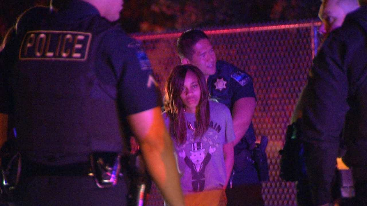 Dave Davis Reports On Women Captured In Reportedly Stolen Car