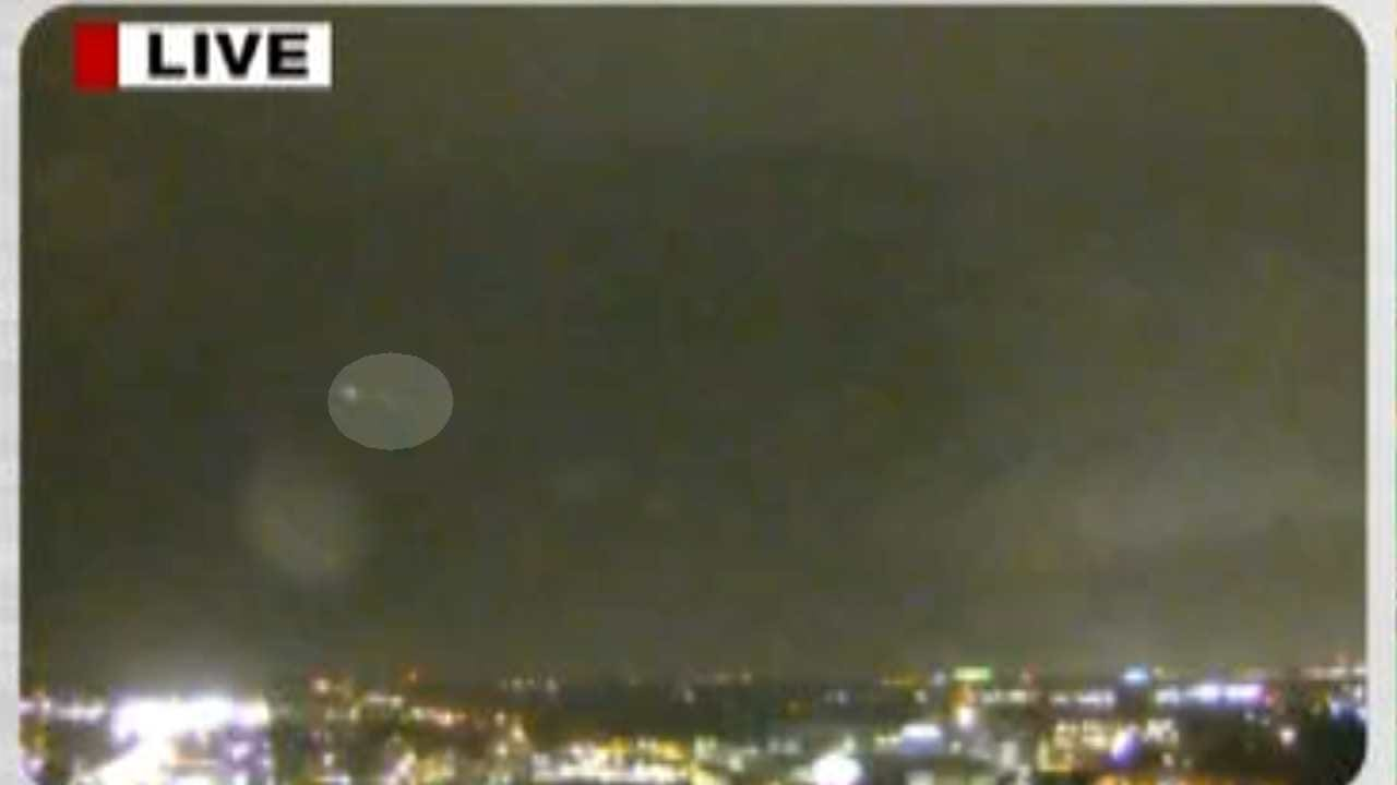 Traffic Cam Video Clip Of Mysterious Light