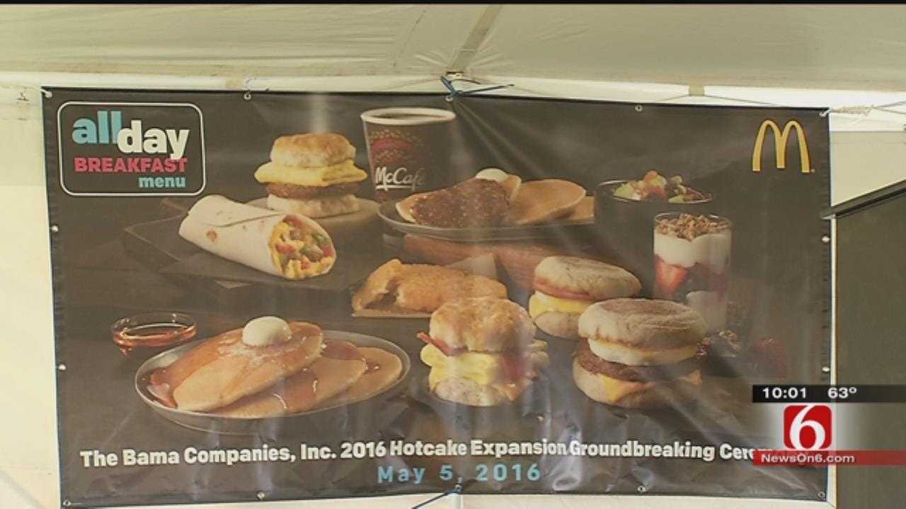 'All Day Breakfast' Leads To Expansion For Tulsa Company