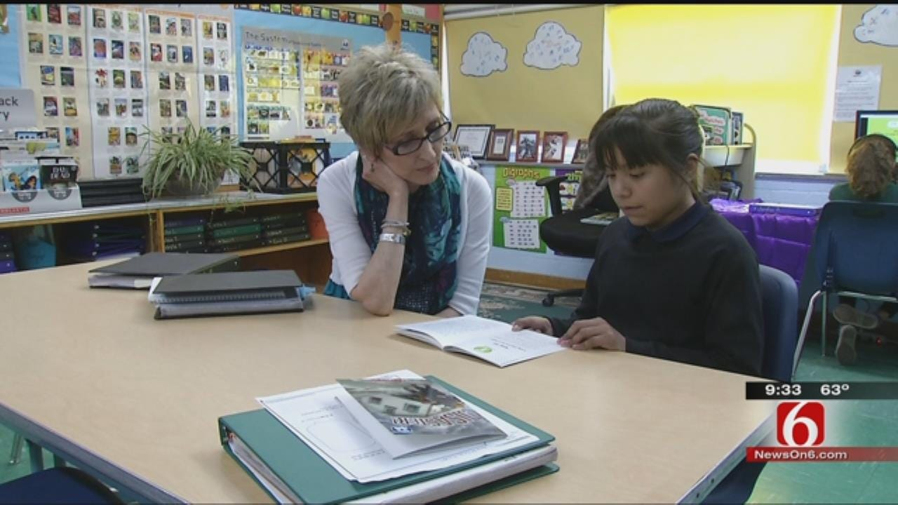 Tulsa Teacher Recognized For Work Helping Struggling Readers