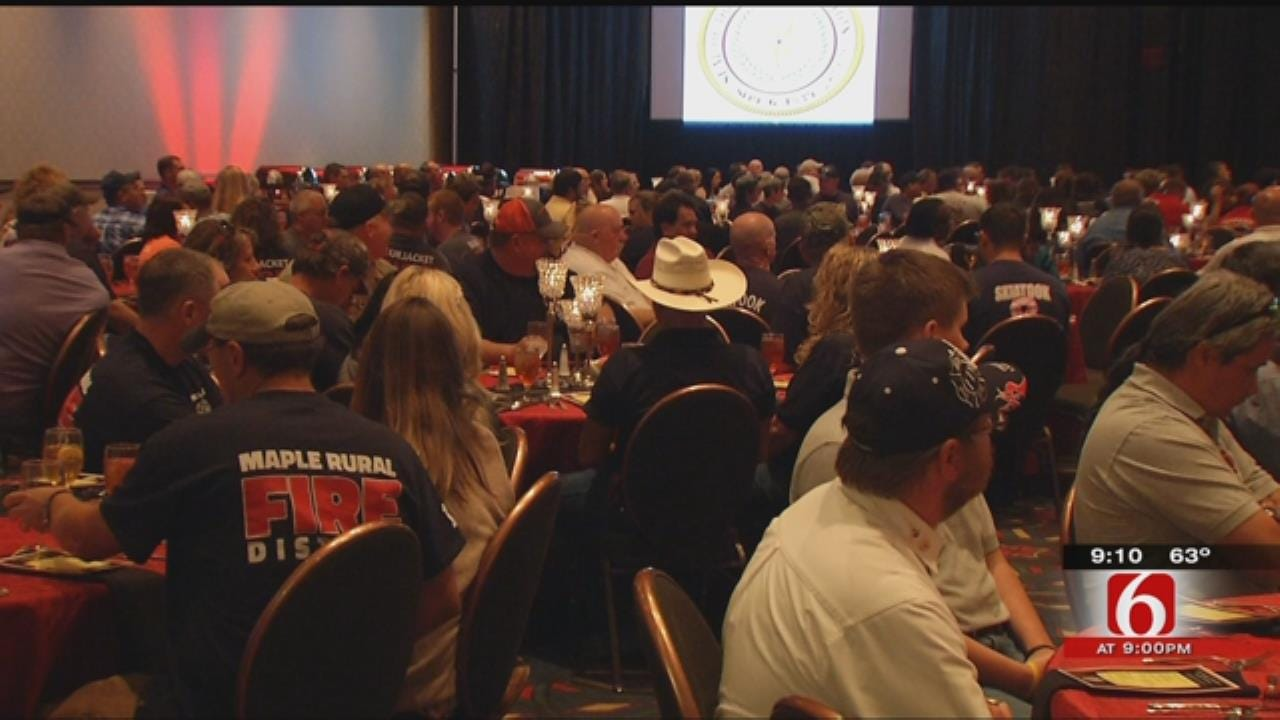 Cherokee Nations Holds Ceremony For More Than 500 Oklahoma Firefighters
