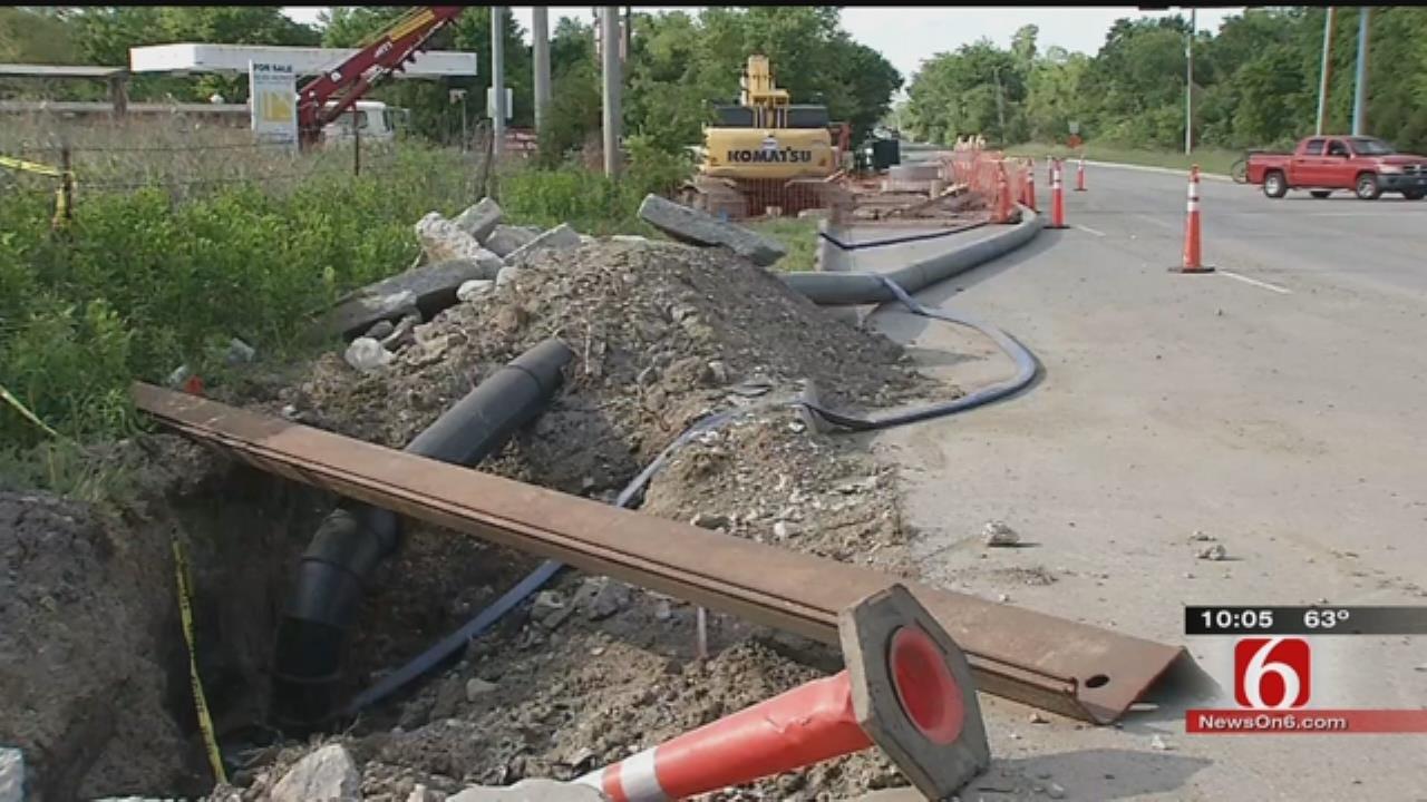 City Of Broken Arrow Closer To Fixing Broken Sewer Line