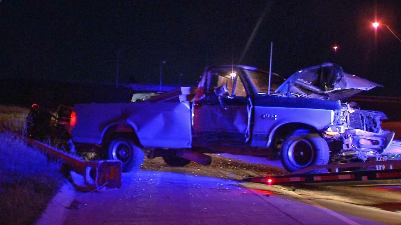 Gary Kruse: Sleepy Driver Crashes On I-244 In Tulsa