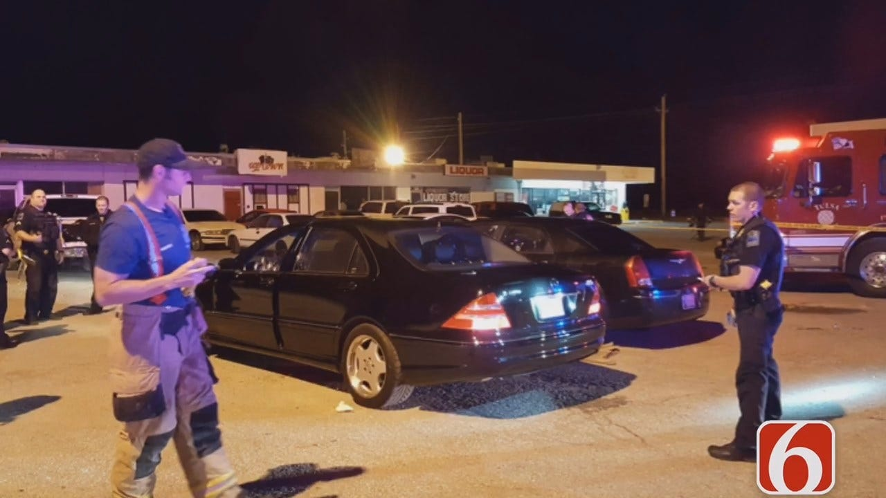 Tony Russell Reports On Shooting Death Outside Tulsa Nightclub