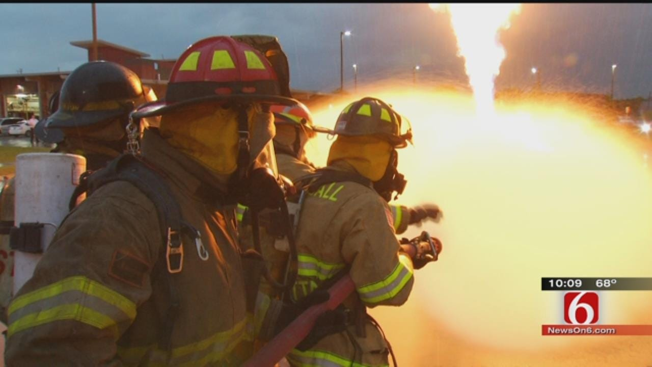 500 Firefighters Come To Tulsa For Fire School