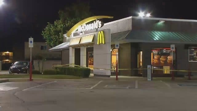 WEB EXTRA: Video From Scene Of Tulsa McDonalds Armed Robbery