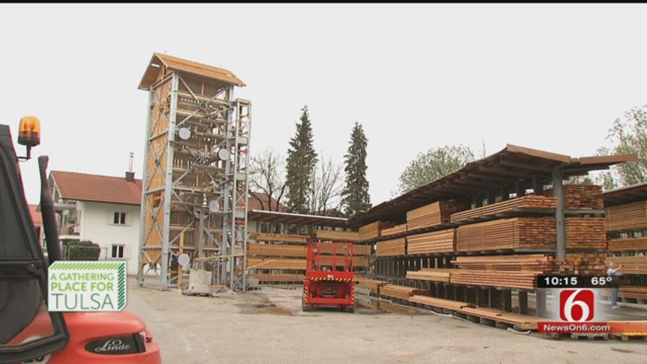 German Engineers Take Pride In Massive Structures For Tulsa's Gathering Place