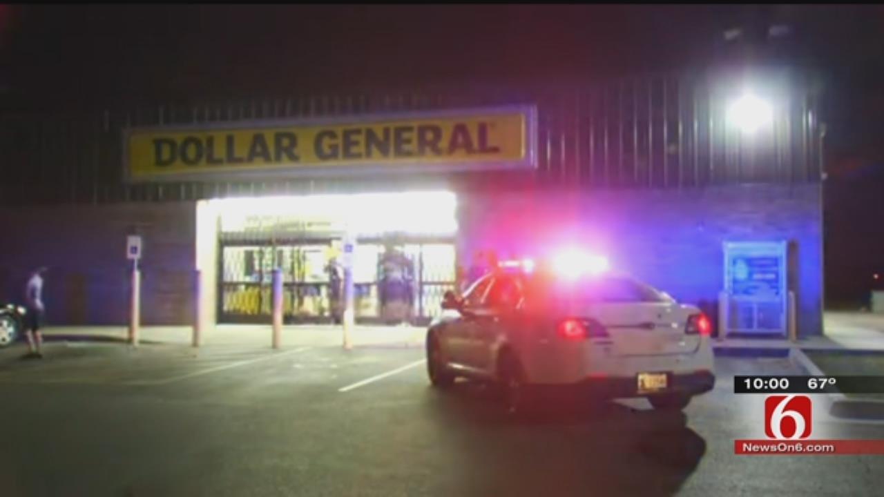 Witness: Men Demand Money, Shoot At Register At Tulsa Dollar General