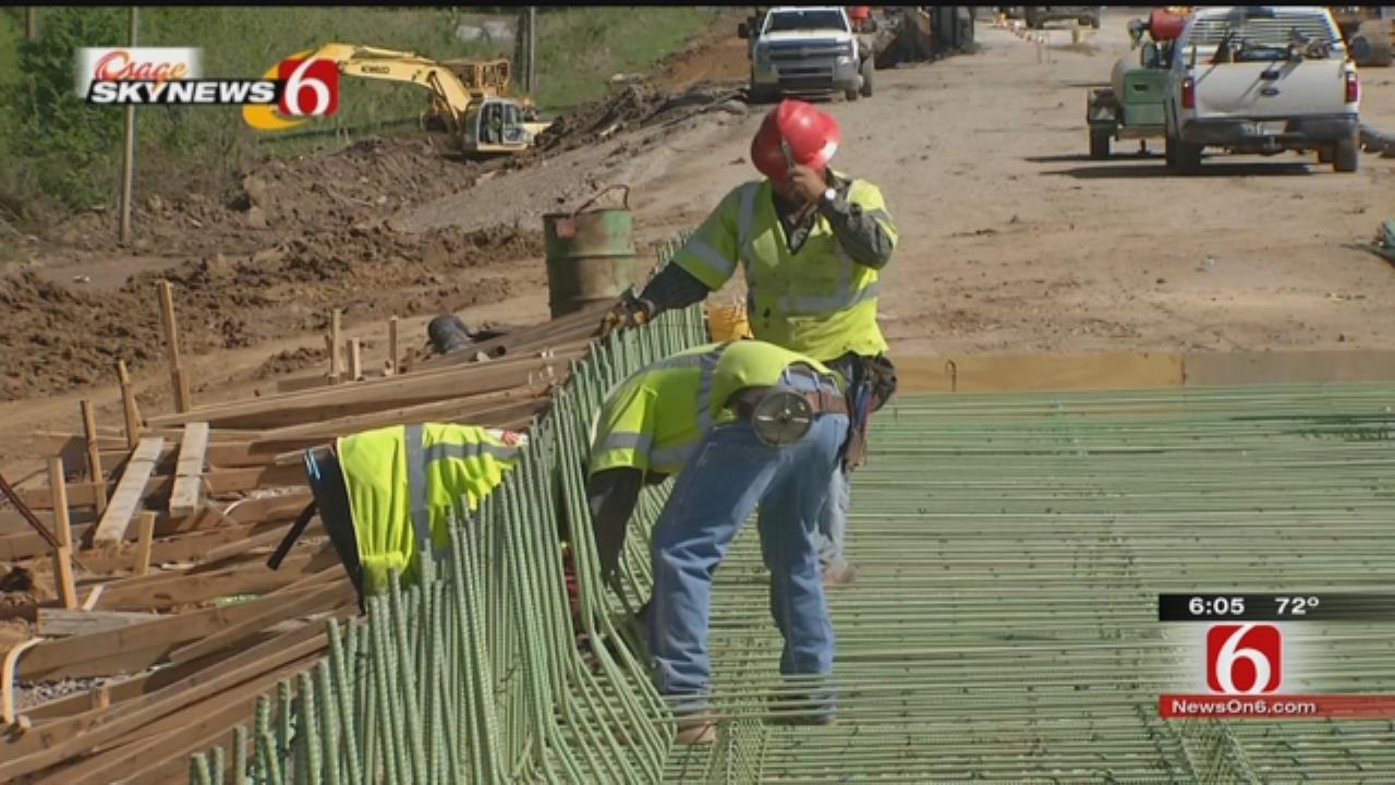 'Behind The Cones' At ODOT's Bird Creek Bridge Project