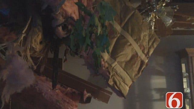 Meagan Farley: Tree Crashes Through Tulsa Home