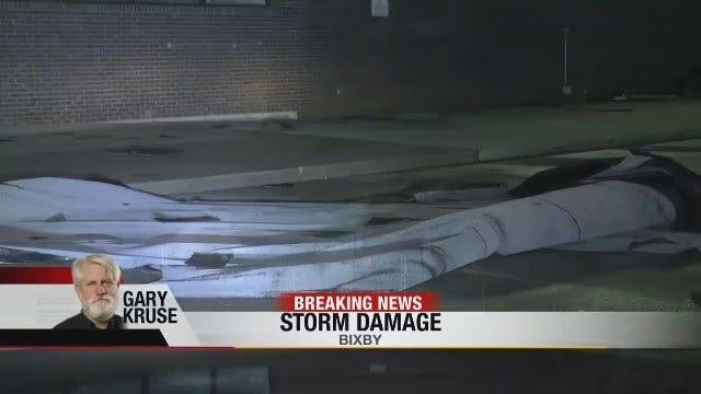 News On 6's Gary Kruse Reports On Bixby Storm Damage
