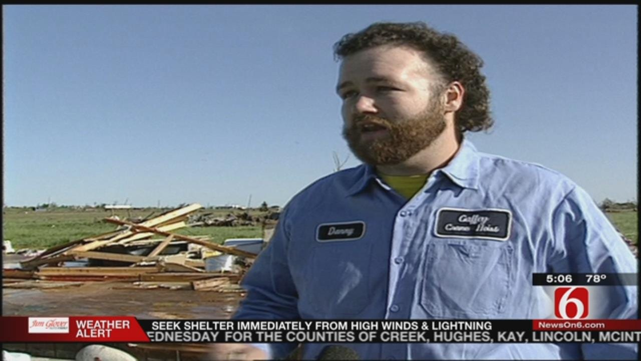 25 Years Ago Oologah Tornado Christens News On 6's Pathfinder