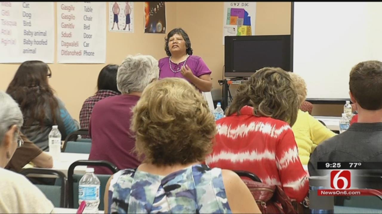 New Class Makes Sure Cherokee Language Survives Future Generations