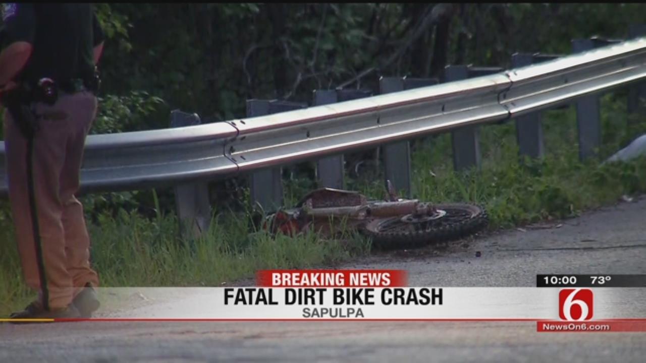 At Least 1 Dead After Sapulpa Dirt Bike Crash