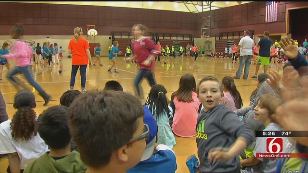 Green Country Students Play Dodgeball To Raise Money For School