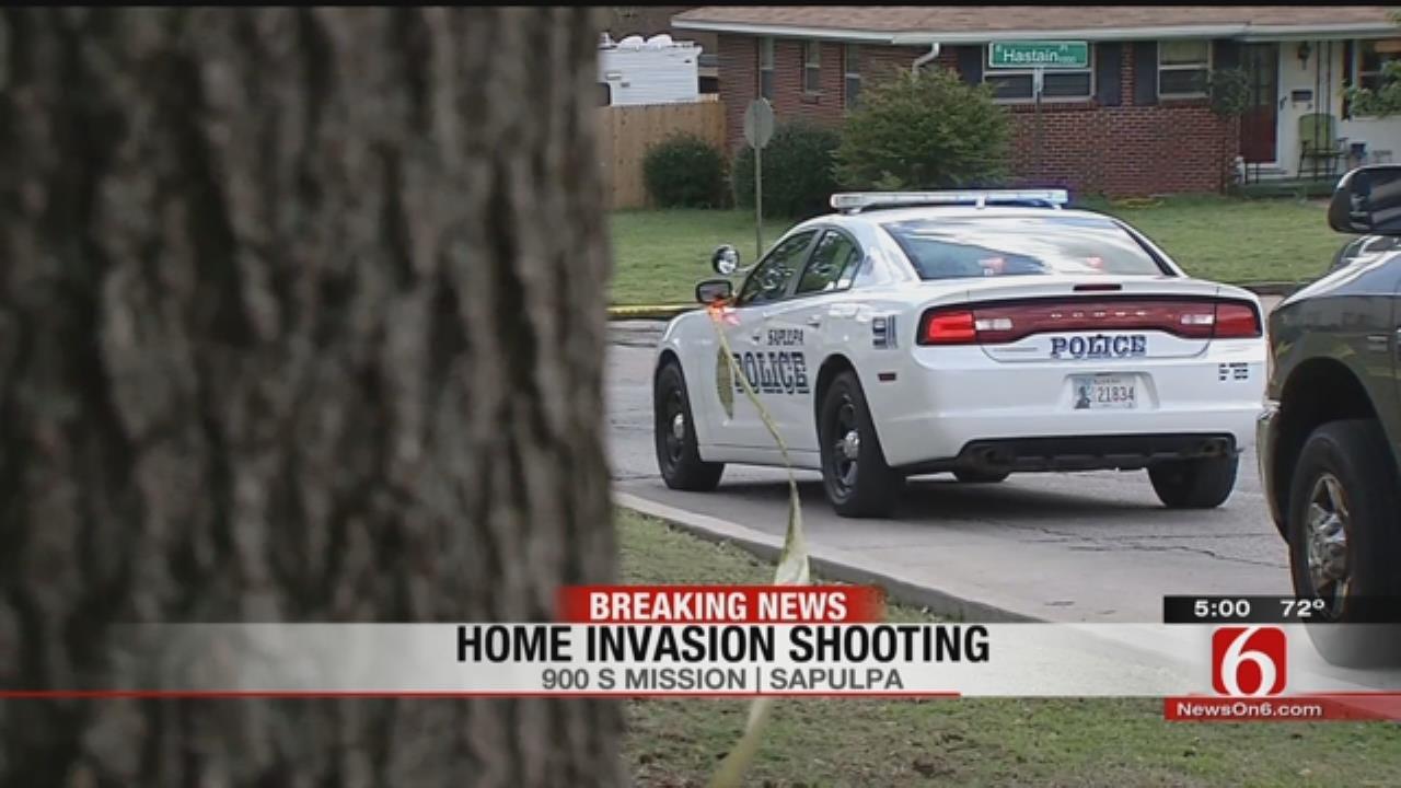 Intruder Shot In Sapulpa Home Invasion, Police Say