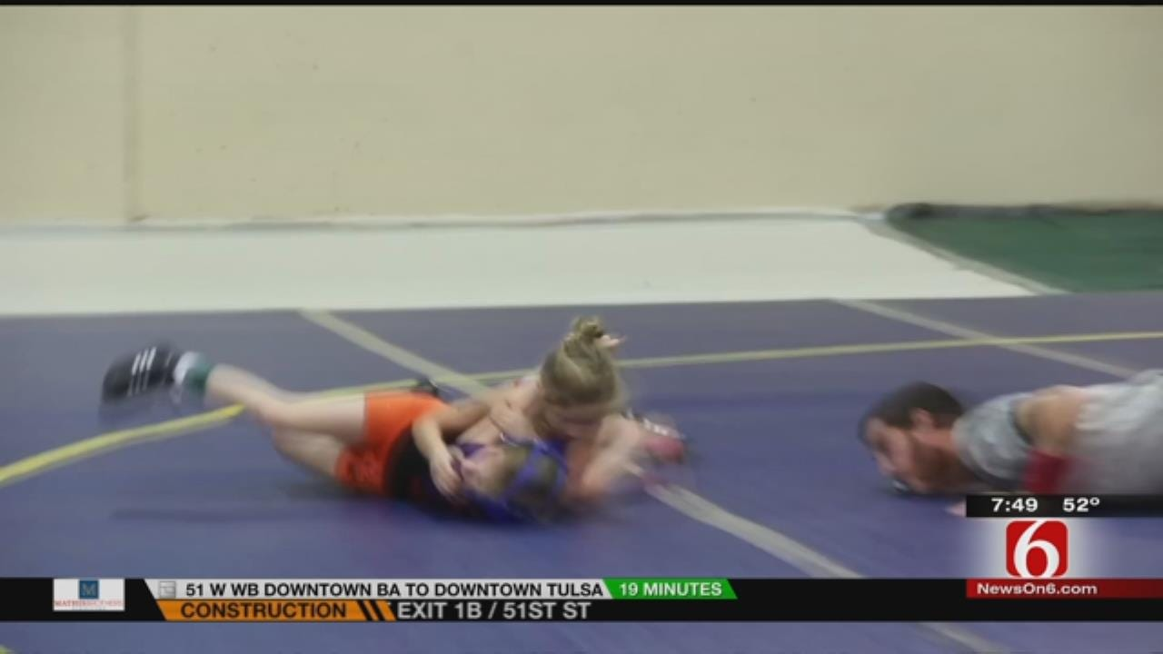Fly The Coop: The Sport Of Girl Wrestling